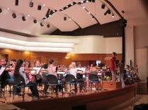 Stretching po próbie I,Culture Orchestra, Akademia Muzyczna w Gdańsku 2013 (fot. rockyourcortex.com)
